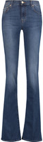 7 For All Mankind Mid-rise faded bootcut jeans
