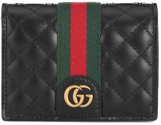 Gucci Double G leather wallet