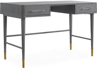 One Kings Lane Montijo Desk - Antiqued Gray
