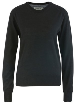 Maison Margiela Gauge 18 round neck wool jumper
