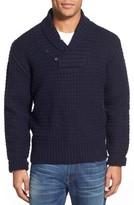 Schott NYC Men's Shawl Collar Knit Pullover