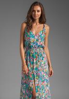 Karina Grimaldi Jamaica Print Maxi Dress