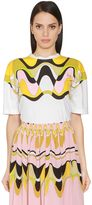 Emilio Pucci Printed Cotton Jersey T-Shirt