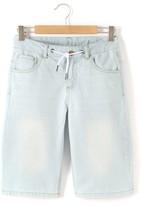 La Redoute Collections Denim Bermuda Shorts, 10-16 Years