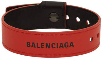 Balenciaga Red Party Bracelet