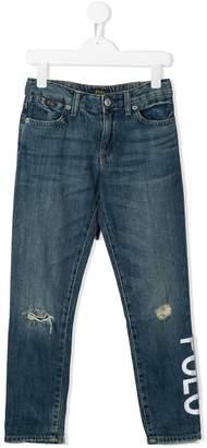Ralph Lauren Kids Slim Fit Jeans