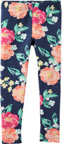 Carter's Navy Knit Leggings - Girls 4-6x