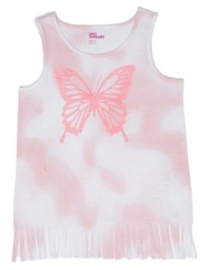 Epic Threads Big Girls Butterfly Fringe Tee