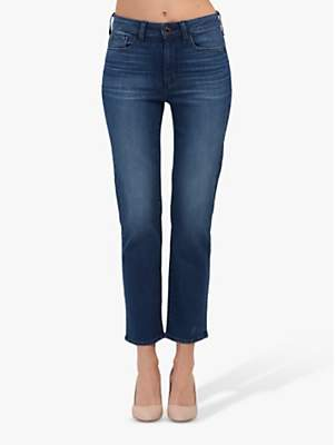 Paige Hoxton Straight Leg Ankle Grazer Jeans, Stockholm