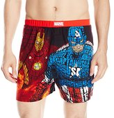 Briefly Stated Men's Avengers Cotton Boxer