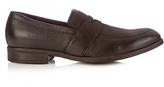 Ermenegildo Zegna Slip-on leather loafers