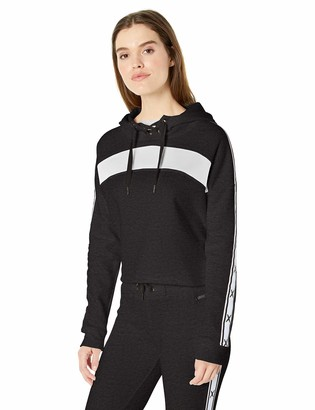 Betsey Johnson Women's Colorblocked X Tape Hoodie