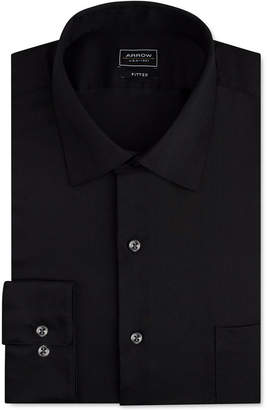 Arrow Men Classic-Fit Stretch Performance Dress Shirt