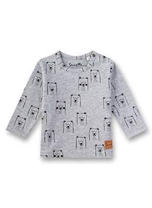 Sanetta Baby T-Shirt, (Grey Mel. 1737), (Size: 0)