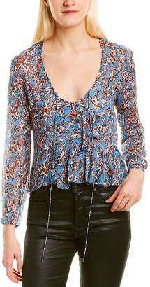 IRO Gosh Wrap Blouse