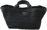 Prada Black Tweed Handbags