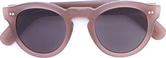 Cutler & Gross Round Lens Sunglasses