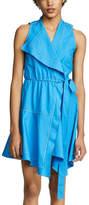 Derek Lam 10 Crosby Poplin Wrap Dress