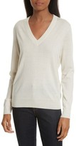 Tory Burch Women's Marilyn V-Neck Cashmere Sweater