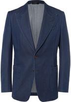 Tom Ford - Blue Slim-fit Denim Blazer