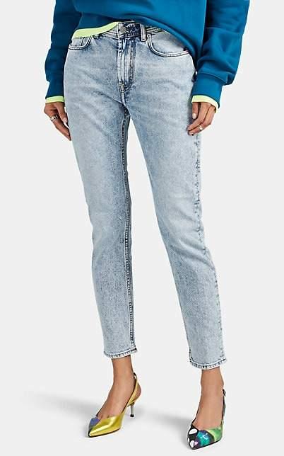 Acne Studios Women's Melk Tapered-Leg Jeans - Lt. Blue
