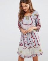 Lavand Floral Boho Dress