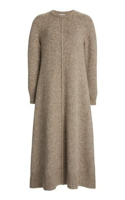 Co Alpaca-Blend Midi Dress