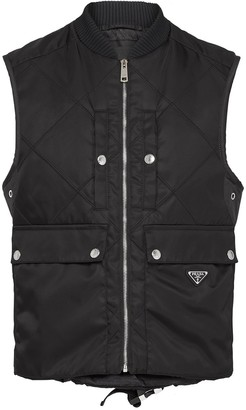 Prada Padded Zipped Vest