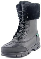 Lauren Ralph Lauren Quinta Women Round Toe Leather Black Winter Boot.