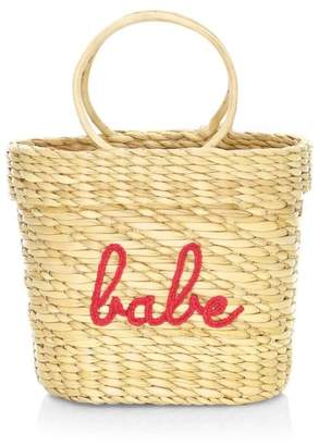 Poolside Mini Structured Beach Tote