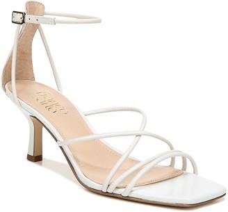 Franco Sarto Square-Toe Leather Sandals - Mia