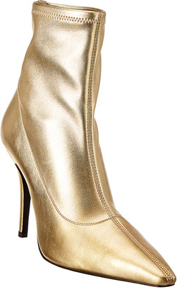 Giuseppe Zanotti Salome Metallic Leather Bootie