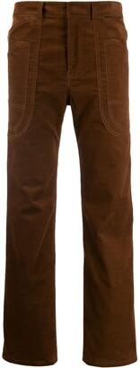 ASAI Branch Work straight-leg trousers