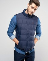 Jack Wills Breile Gilet In Navy