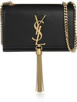 Saint Laurent Monogramme Small Leather Shoulder Bag - Black