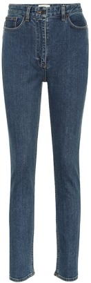 The Row Kate high-rise skinny jeans