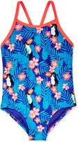 Roxy 1-Pc. Tropics Swimsuit, Little Girls (2-6X)