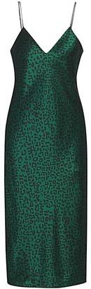 CAMI NYC Raven Leopard Slip Dress
