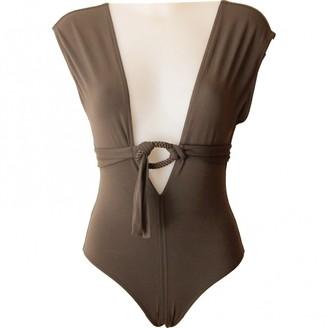 Eres Brown Cotton - elasthane Swimwear for Women