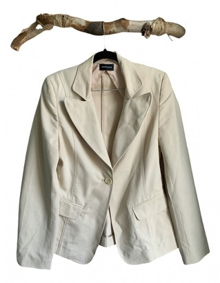Bruuns Bazaar Beige Cotton Coat for Women