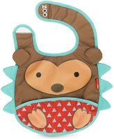 Bed Bath & Beyond SKIP*HOP® Zoo Tuck-Away Bib in Hedgehog