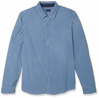 Buffalo David Bitton Men's Long Sleeve Denim courduroy Shirt
