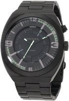 Diesel Men's DZ1415 NSBB Ion-Plated Stainless Steel Black Dial Watch