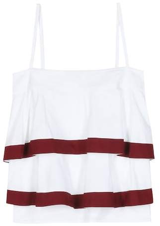 Tory Burch Sage striped cotton top