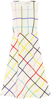 Mary Katrantzou Osmond Printed Stretch-crepe Dress - White