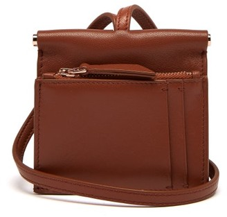 Gabriela Hearst Maria Mini Leather Necklace Bag - Tan