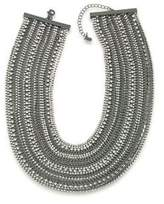 ABS by Allen Schwartz Rockstars Multi-Row Crystal Torsade Necklace