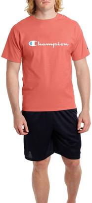 Champion Classic Logo Print Short Sleeve T-Shirt