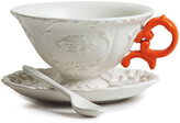 Seletti I-Wares Porcelain Tea Set - Orange