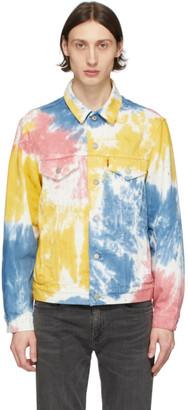Levi's Levis Multicolor Vintage Fit Trucker Denim Jacket